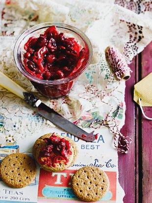 Cranberry & chilli jam