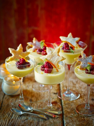 St celement 39 s posset with shortbread fruit recipes for Canape ideas jamie oliver