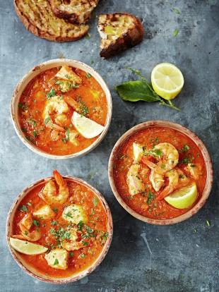 Sicilian fish soup
