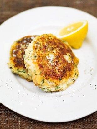 Salmon fishcakes