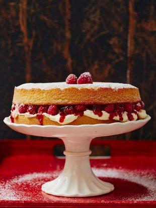 My Special Victorian Sponge Fruit Recipes Jamie Oliver