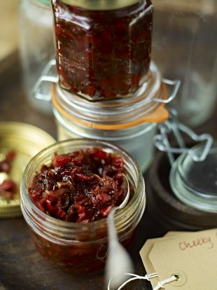 Cheeky chilli-pepper chutney