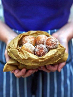 Mini vegan doughnuts
