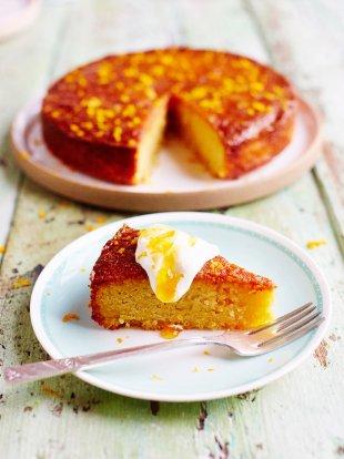 Sicilian Orange Cake Gluten Free