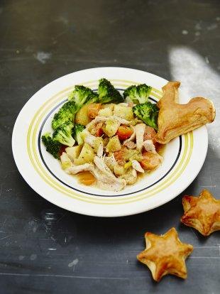 Jools' simple chicken and veg stew