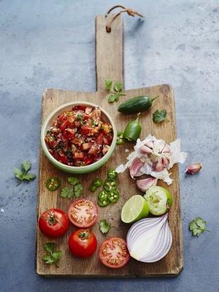 Classic tomato salsa