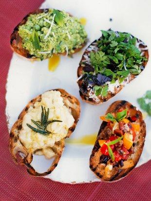 Crostini (small toasted bread)