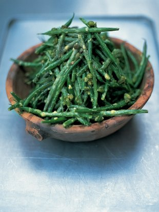 Good old French bean salad