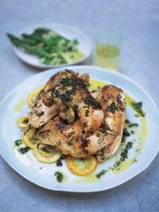 Herb marinated chicken