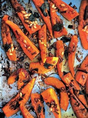 Roasted squash (Zucca al forno)