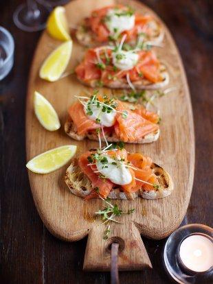 Smoked Salmon On Toast Fish Recipes Jamie Oliver Recipes