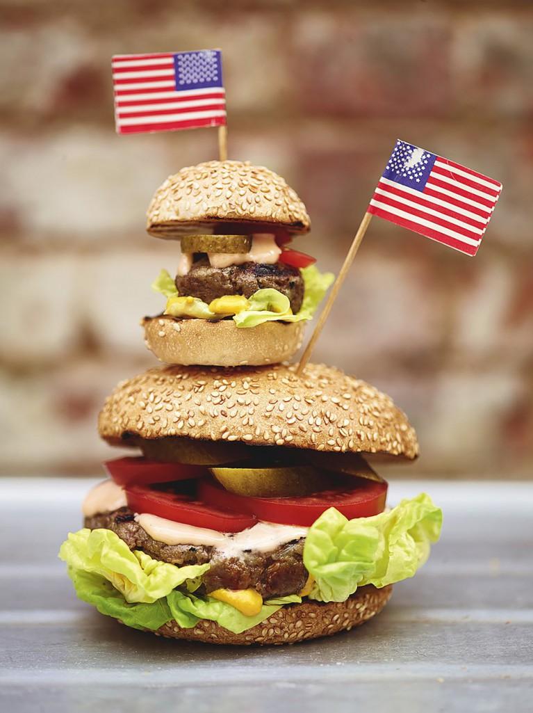Burgers & sliders