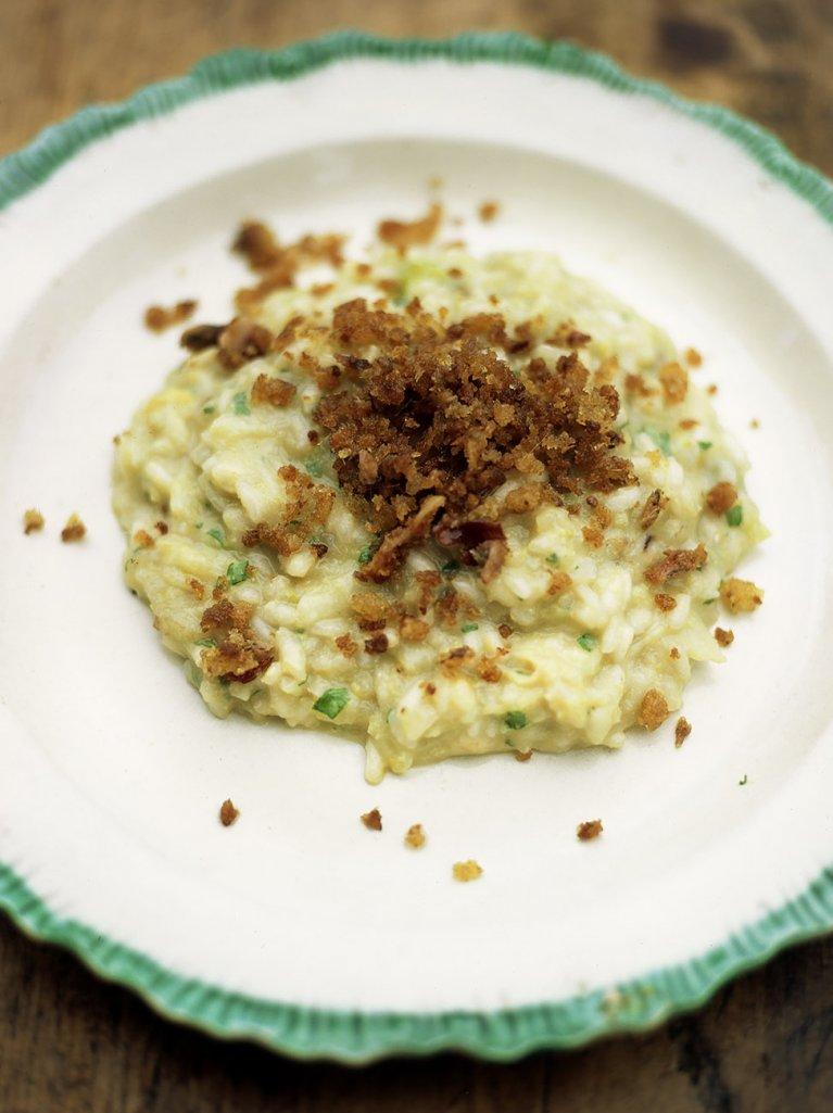 Cauliflower risotto (Risotto ai cavalfiori)