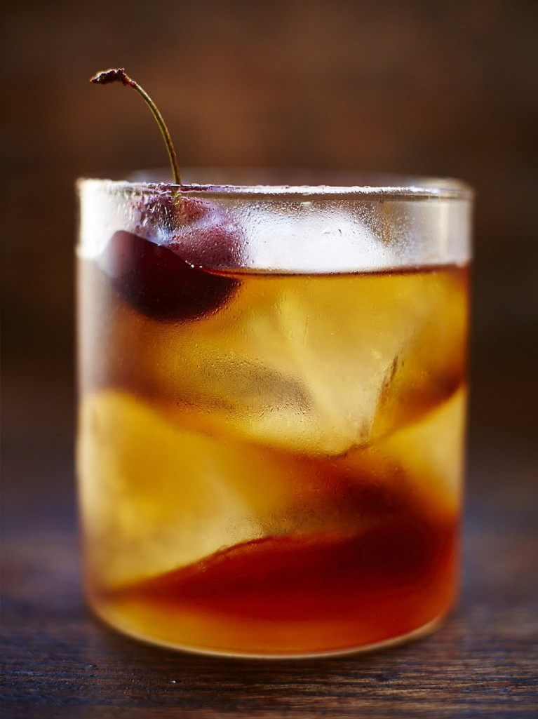 Rum old fashioned