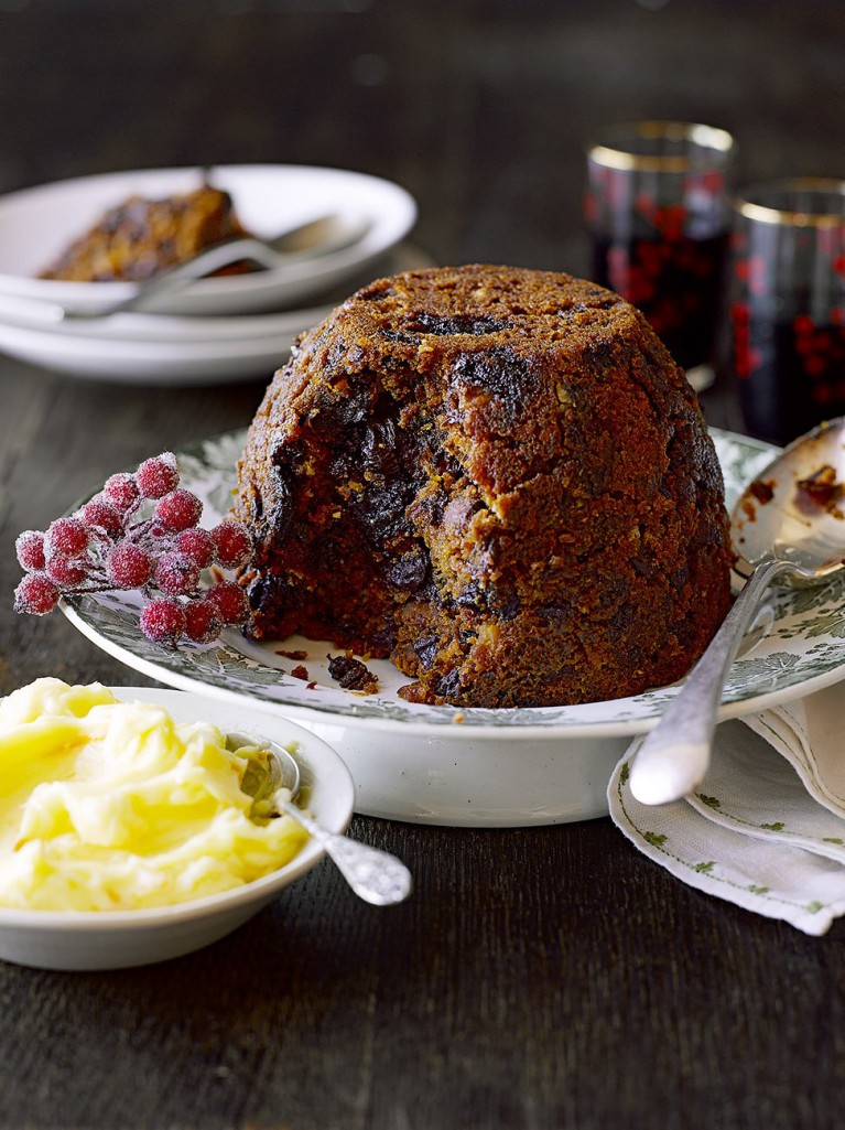gluten free christmas pudding fruit recipes jamie oliver