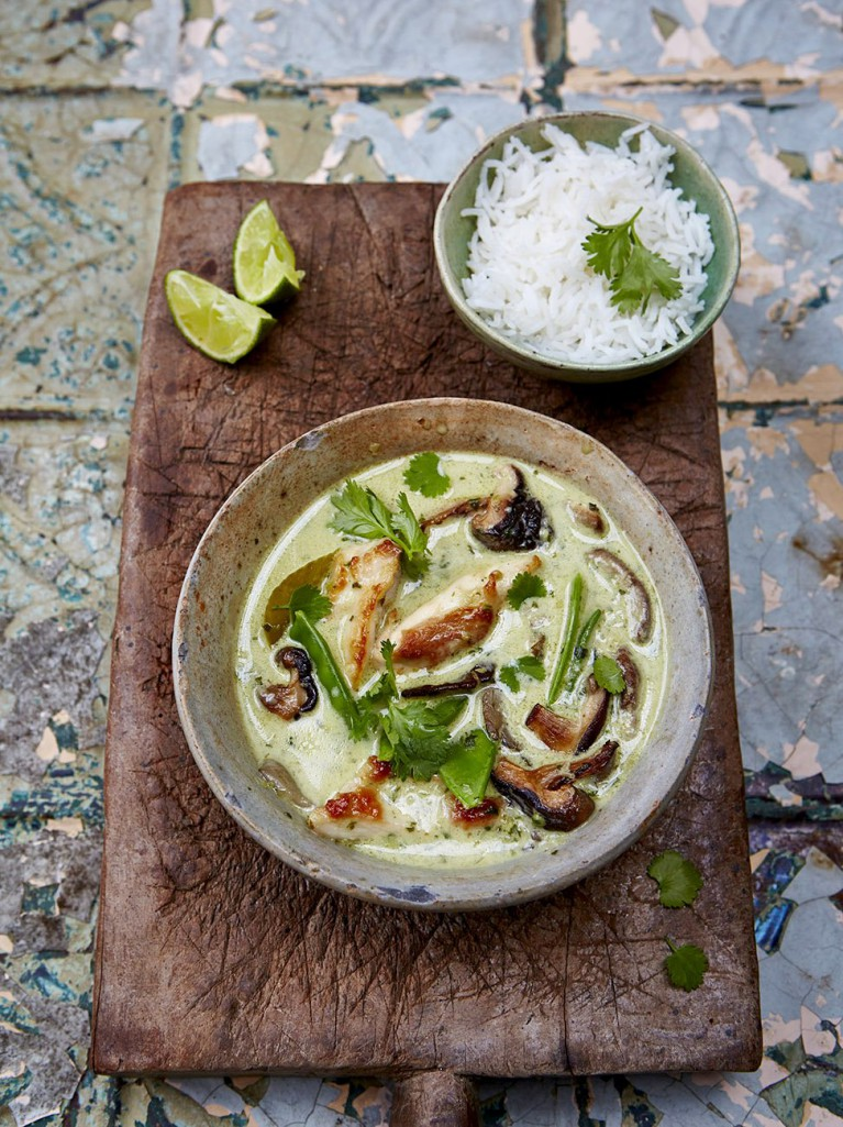 Jamie Oliver Thai Green Curry Recipe Ministry Of Food