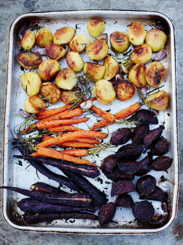 honey roasted root vegetables honey and herb roasted root vegetables ...