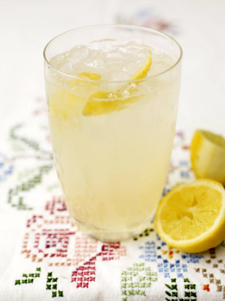 Gin and elderflower sherbet