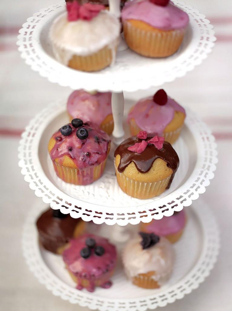 Tea party fairy cakes