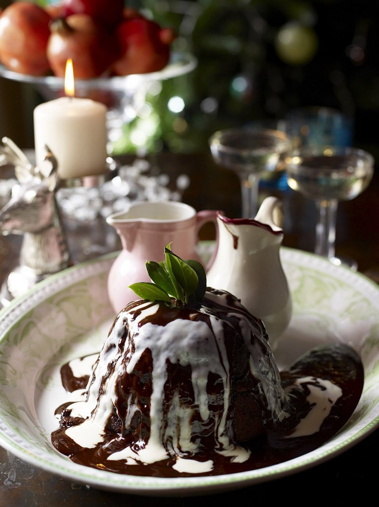 Jamie's Mum's gorgeous chocolate pudding