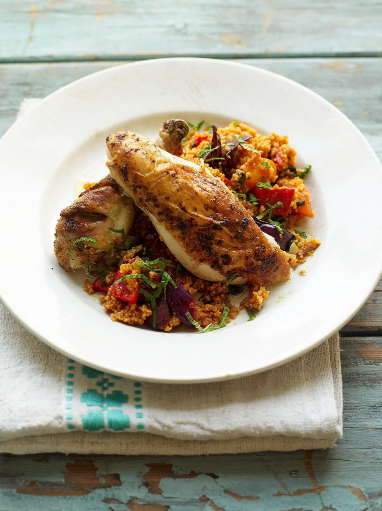 Roast chicken with couscous | You Gotta Make This