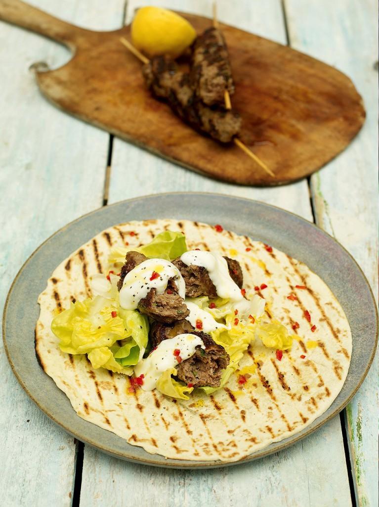 Spicy kofta kebabs