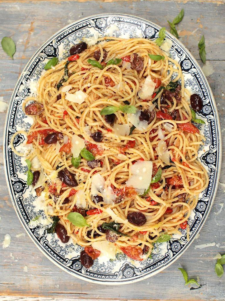 Gennaro's spaghetti alla puttanesca