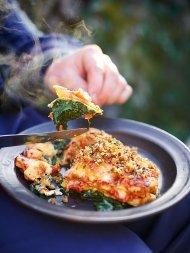 Crispy duck lasagne