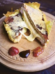 No.1 toasted cheese sandwich