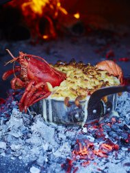Lobster mac 'n' cheese