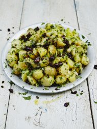 Cypriot-style potato salad