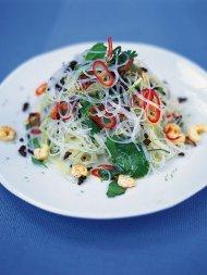 Fresh Asian noodle salad