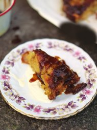 Apple pepper pot cake