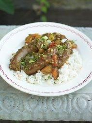 Southern sausage stew