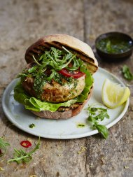 The best tuna burger