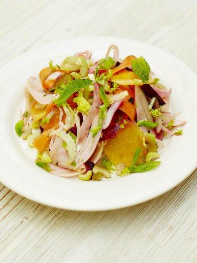 Root vegetable salad