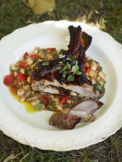 My Moorish pork chops