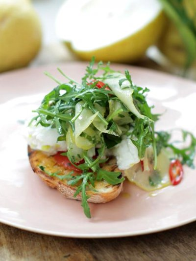 Cedro lemon bruschetta