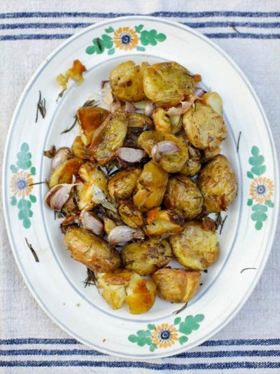 Rosemary roasted Jersey Royals