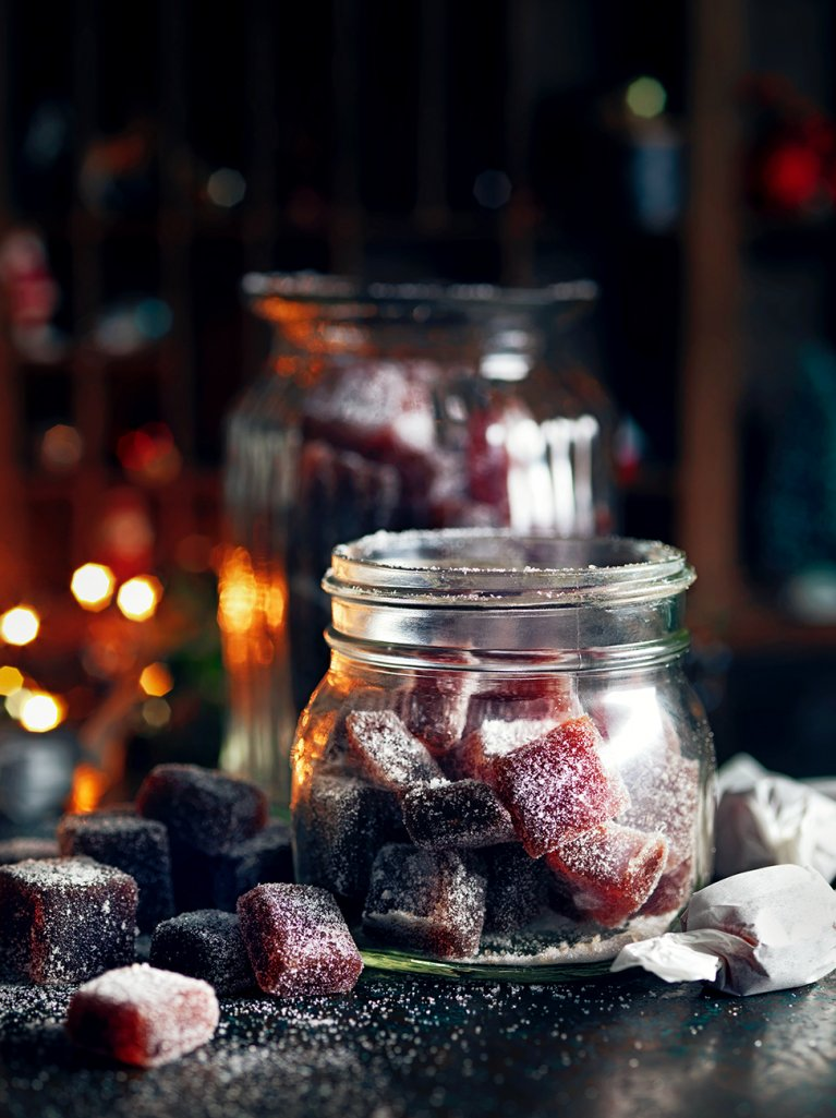 Mulled Wine Jelly Sweets | Jamie Oliver
