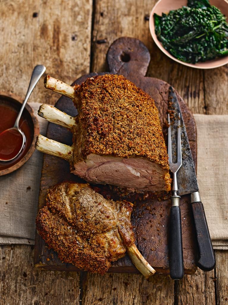 Chestnut Amp Porcini Crusted Veal Rack