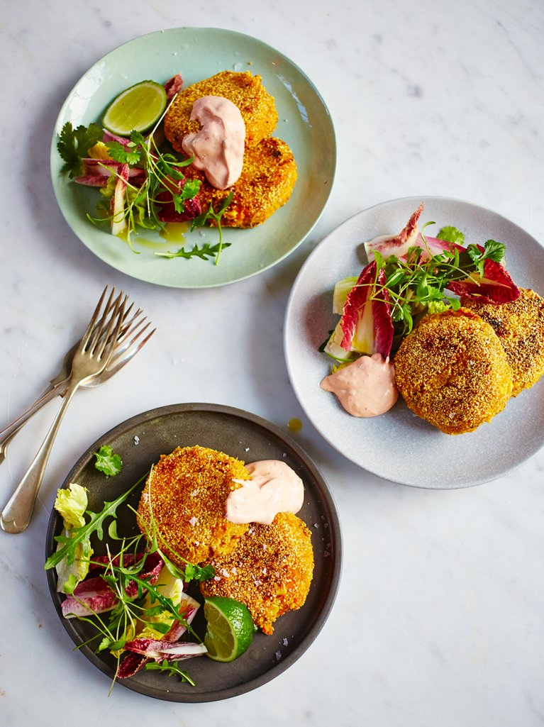 Mexican style fish cakes fish recipes jamie oliver for Mexican fish dishes