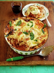 Incredible leftover lasagne