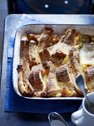 Brioche bread & butter pudding