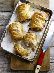 Pork & apple sausage rolls