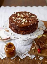 Chocolate & salted caramel cake