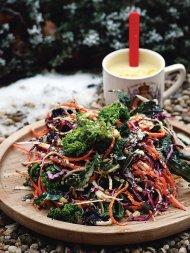 Delicious winter salad