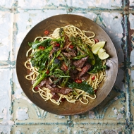 Sizzling steak stir-fry