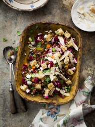 Italian spring bean salad