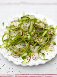 Raw spring salad